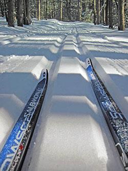 Groomed Corsair Ski Trail