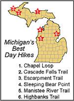 Michigan's Best Dayhikes