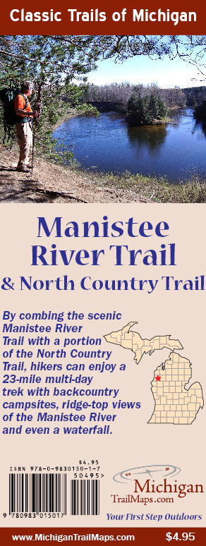 Manistee River Trail Map