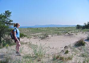 View of Platte Bay.