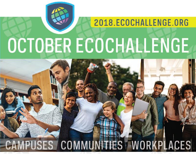 2018.EcoChallenge.org. October EcoChallenge. Campuses, communities, workplaces