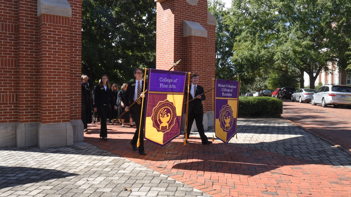 Founders' Day march