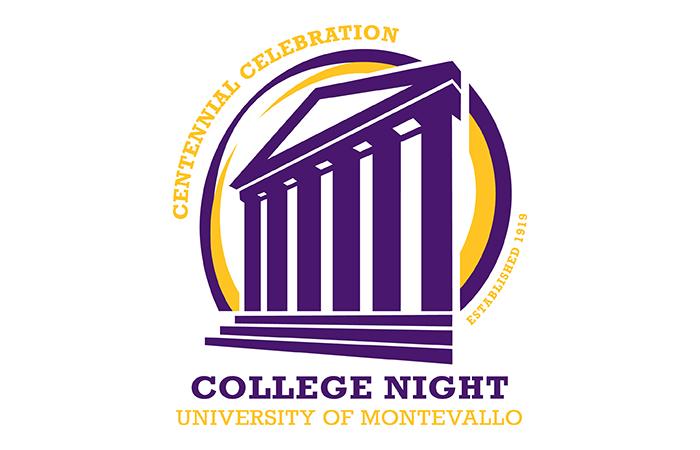 Centennial Celebration. College Night established 1919. University of Montevallo.