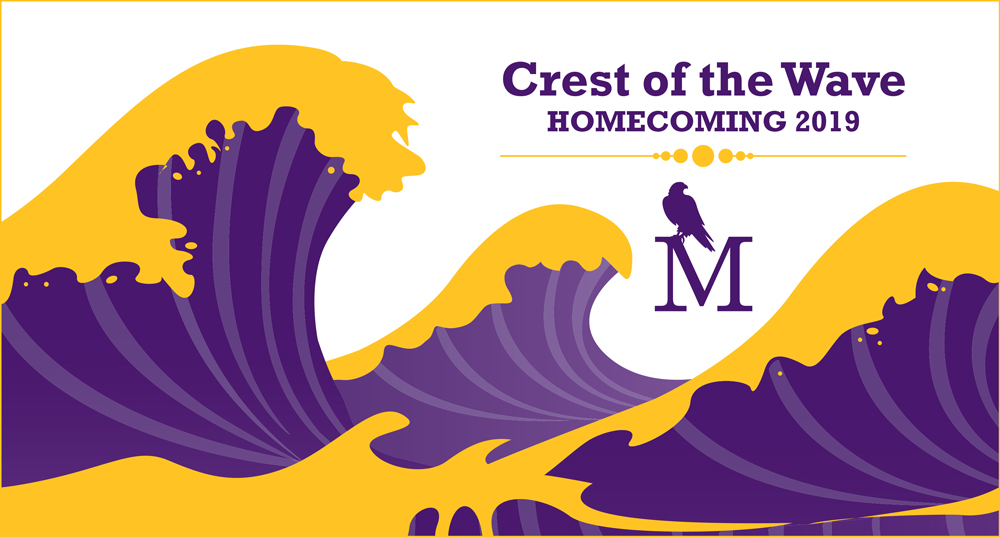 Crest of the Wave, Homecoming 2019, University of Montevallo