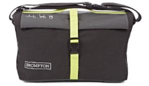 Roll Bag - Black/Lime