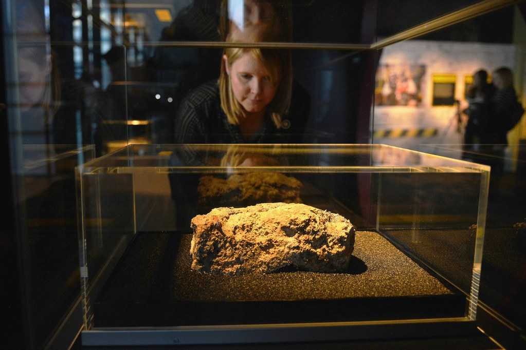 "The ""fatberg"" on display in London"