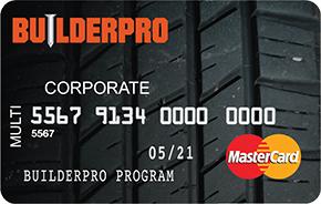 BuilderPro MasterCard
