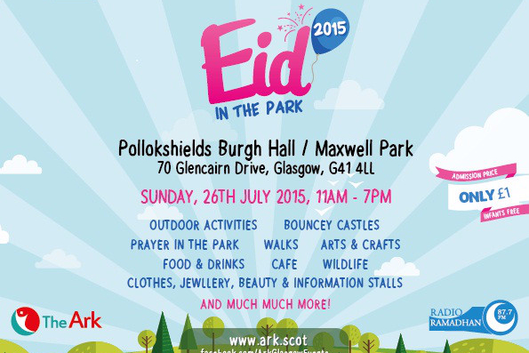 Eid in the Park, Glasgow