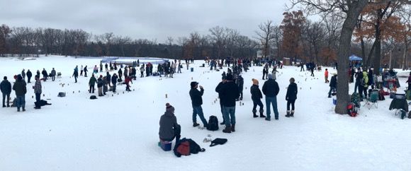 The largest winter Kubb tournament in the world!