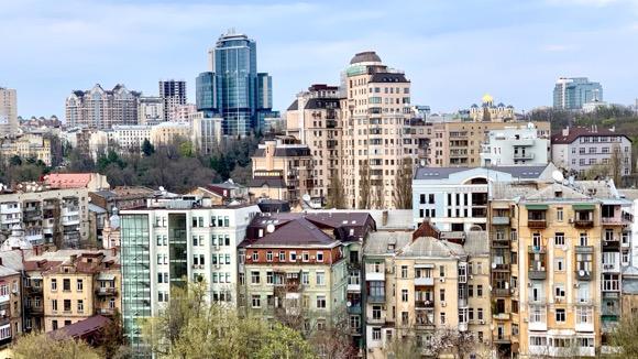 View of Kiev, Ukraine.