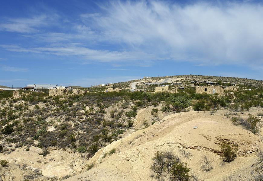Far West Texas landscape