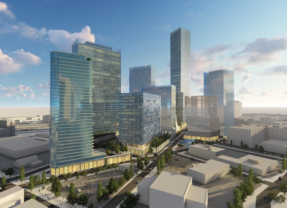 Dallas Smart District master-planned community