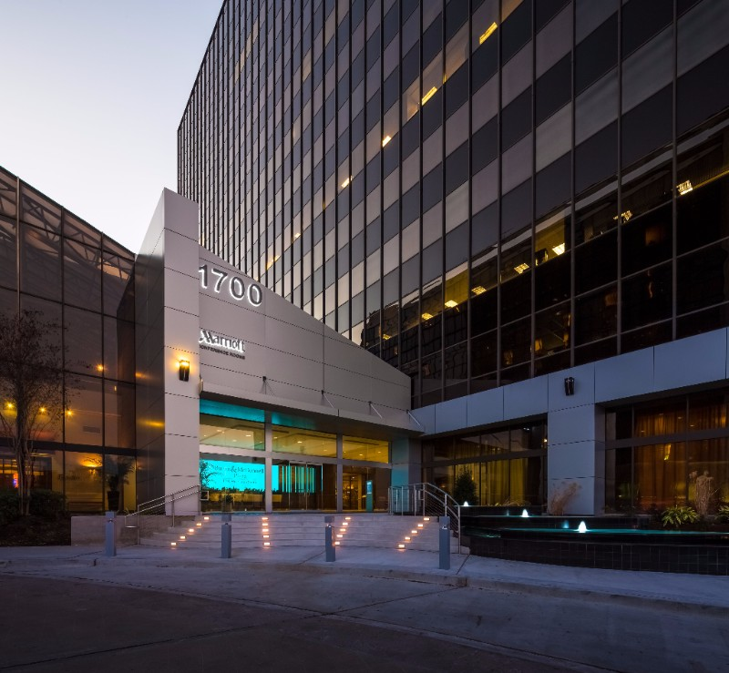 A 14-story Class A office building at 1700 West Loop South in Houston has been sold.