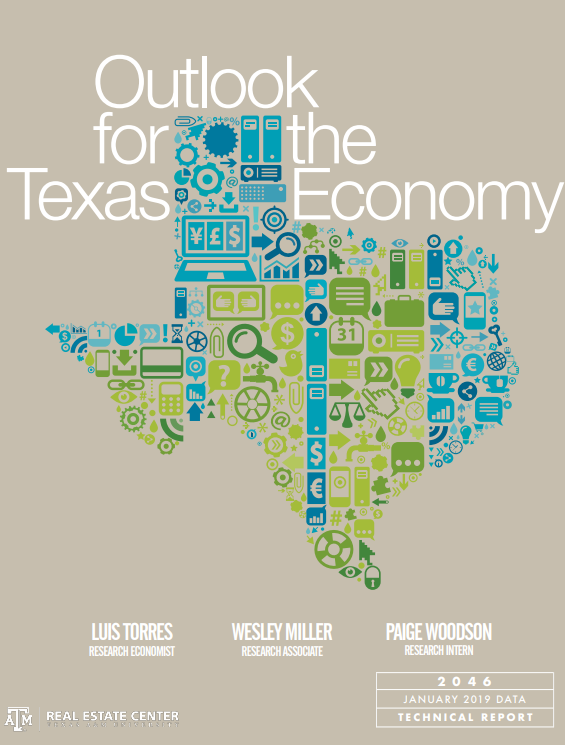 Outlook for Texas Econ cover