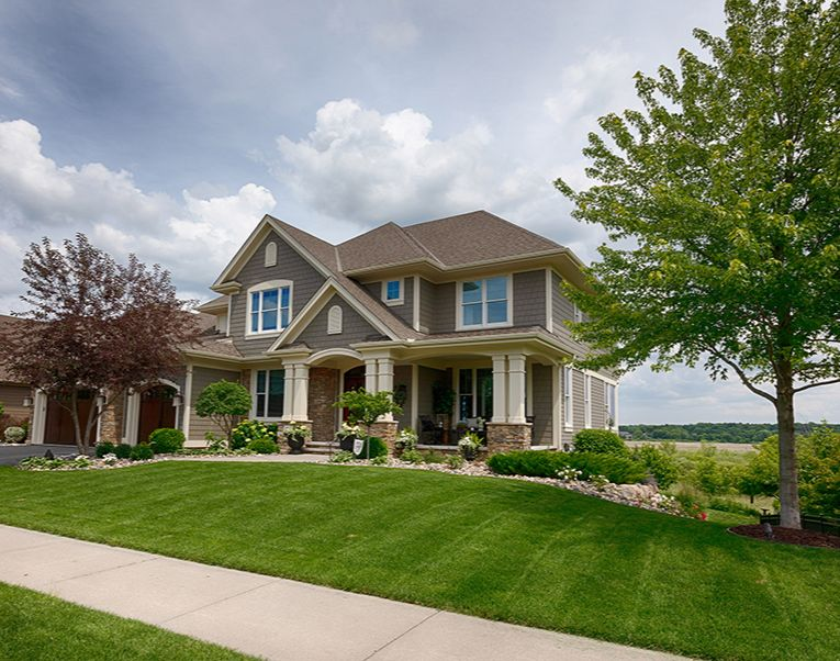 A nice house with a green lawn in Amarillo, Texas