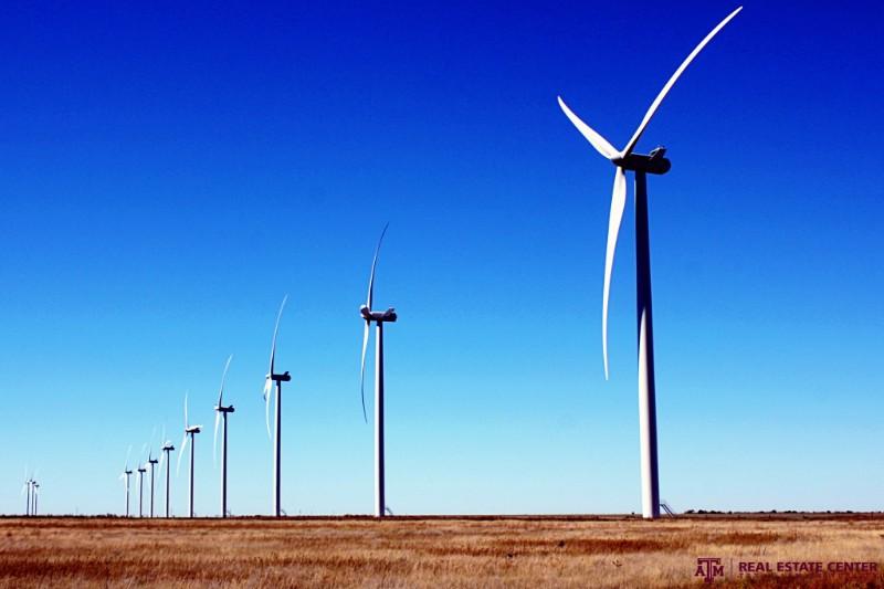 Wind farm west of Amarillo