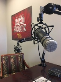 Real Estate Red Zone podcast studio