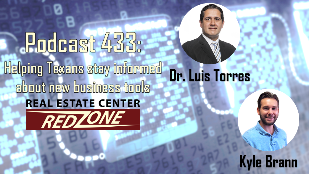 Podcasdt 433: Helping Texans stay informed about new business tools