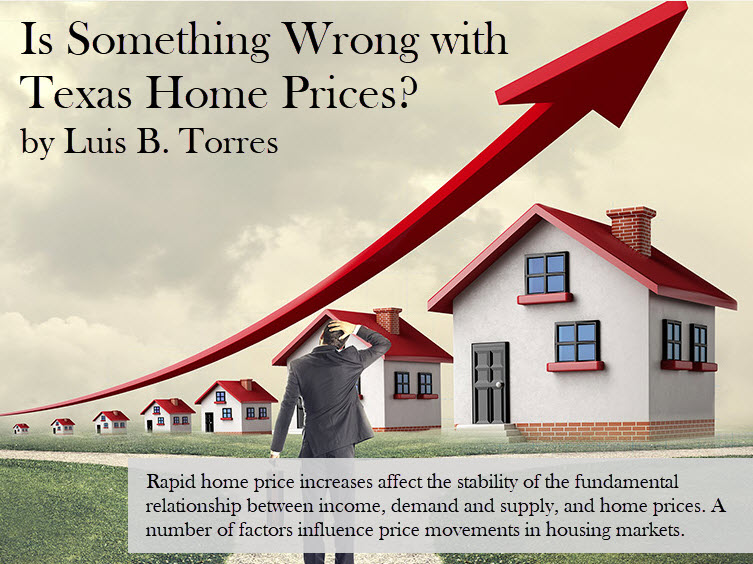 Is Something Wrong with Texas Home Prices?