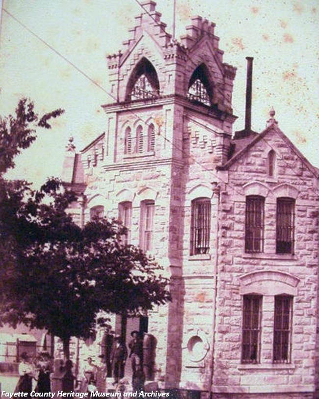 Former Fayette Co. jail in La Grange, Texas.