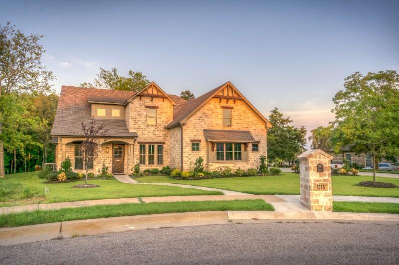 Luxury suburban home