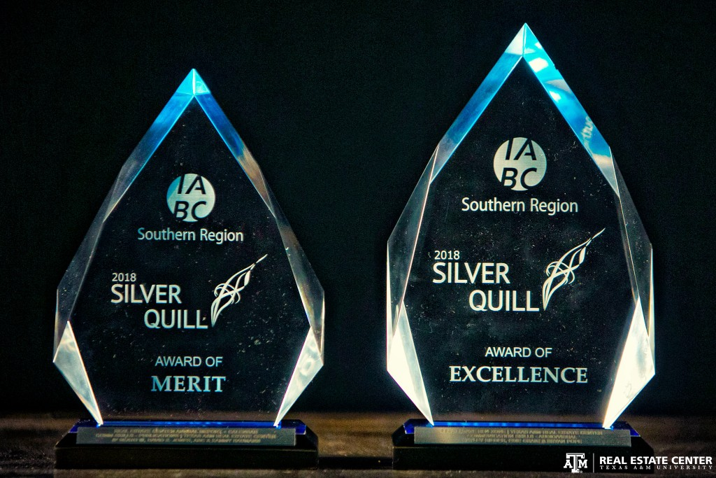 Two IABC Silver Quill awards.
