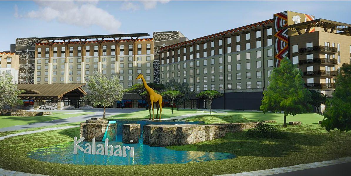Rendering of Kalahari resort in Round Rock