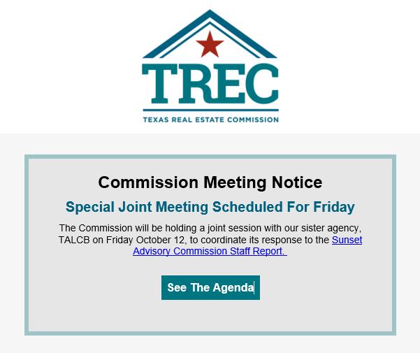 TREC joint meeting announcment