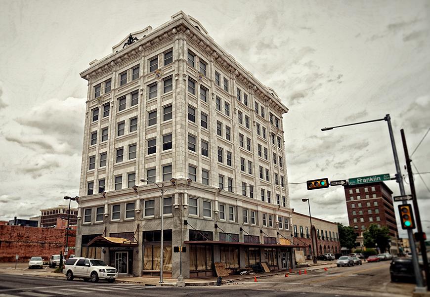 Downtown loft building