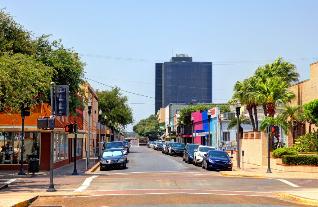 McAllen, Texas, street