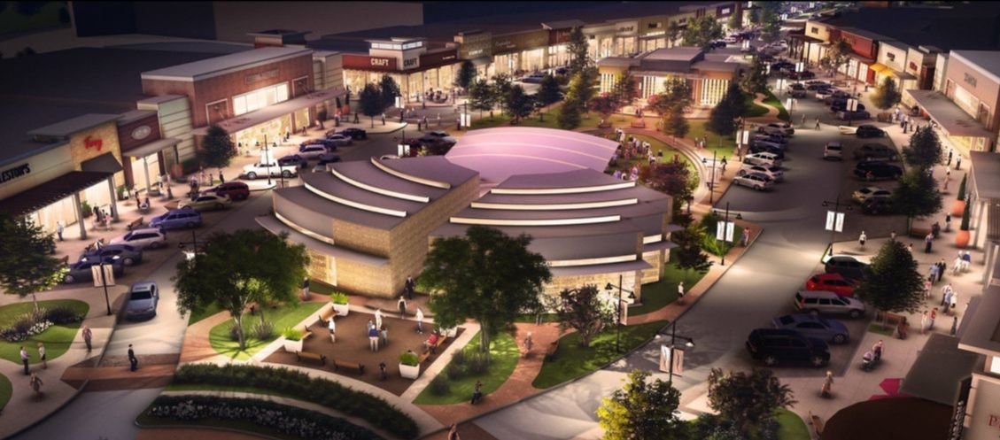 Rendering of Rayzor Ranch Town Center