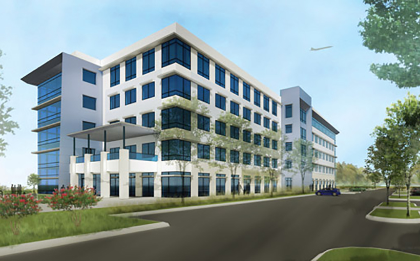 Rendering of Project Tech Building 2
