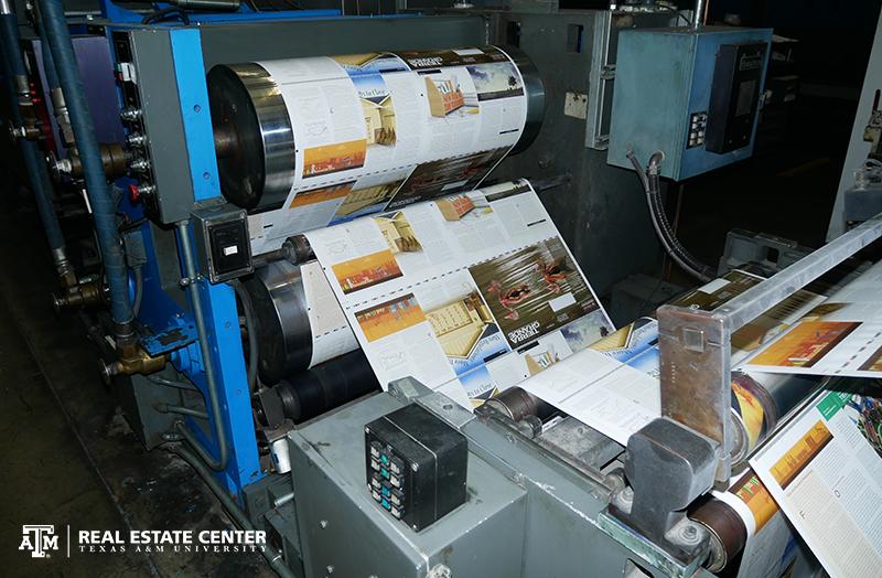 Tierra Grande magazine printing