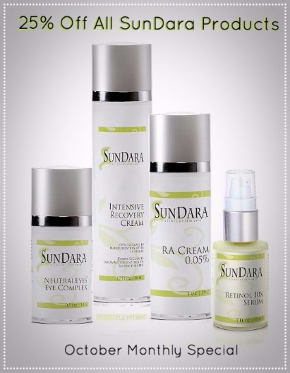 25% off all SunDara products