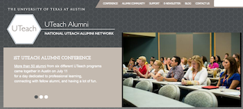National UTeach Alumni Network Website