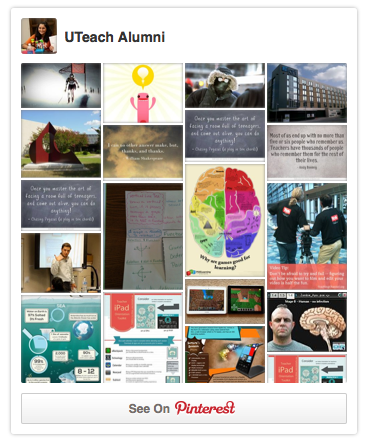 UTeach Alumni Pinterest Profile