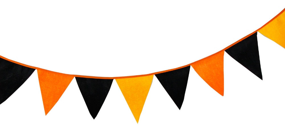 Image result for halloween bunting graphic