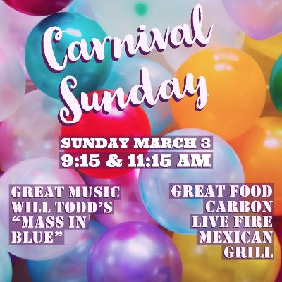 CARNIVAL SUNDAY MAR 3