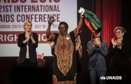 ban ki moon Michel Sidibé UNAIDS report
