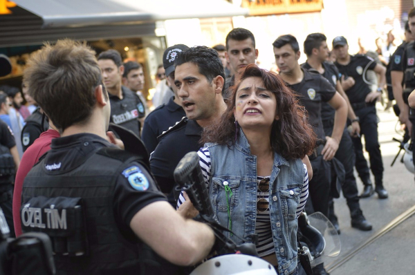 istanbul woman detained lgbt