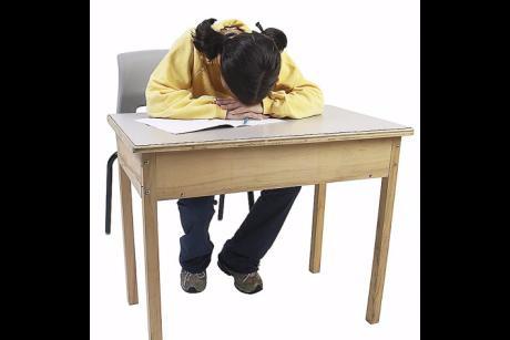 destressed student