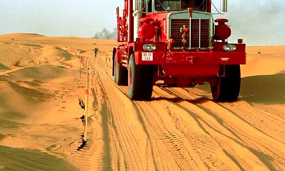 GEOWEB System for Sand Roads