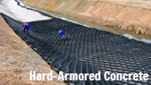 Hard-Armored Concrete Channels
