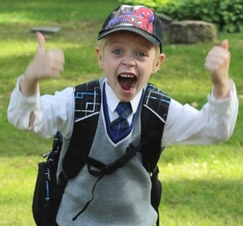Rasmuse esimene koolipäev