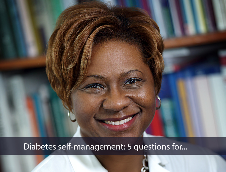 Diabetes self-management: 5 questions for...