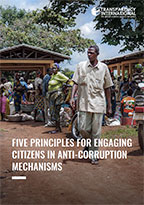 Guide - Five principles for engaging citizens in anti-corruption mechanisms