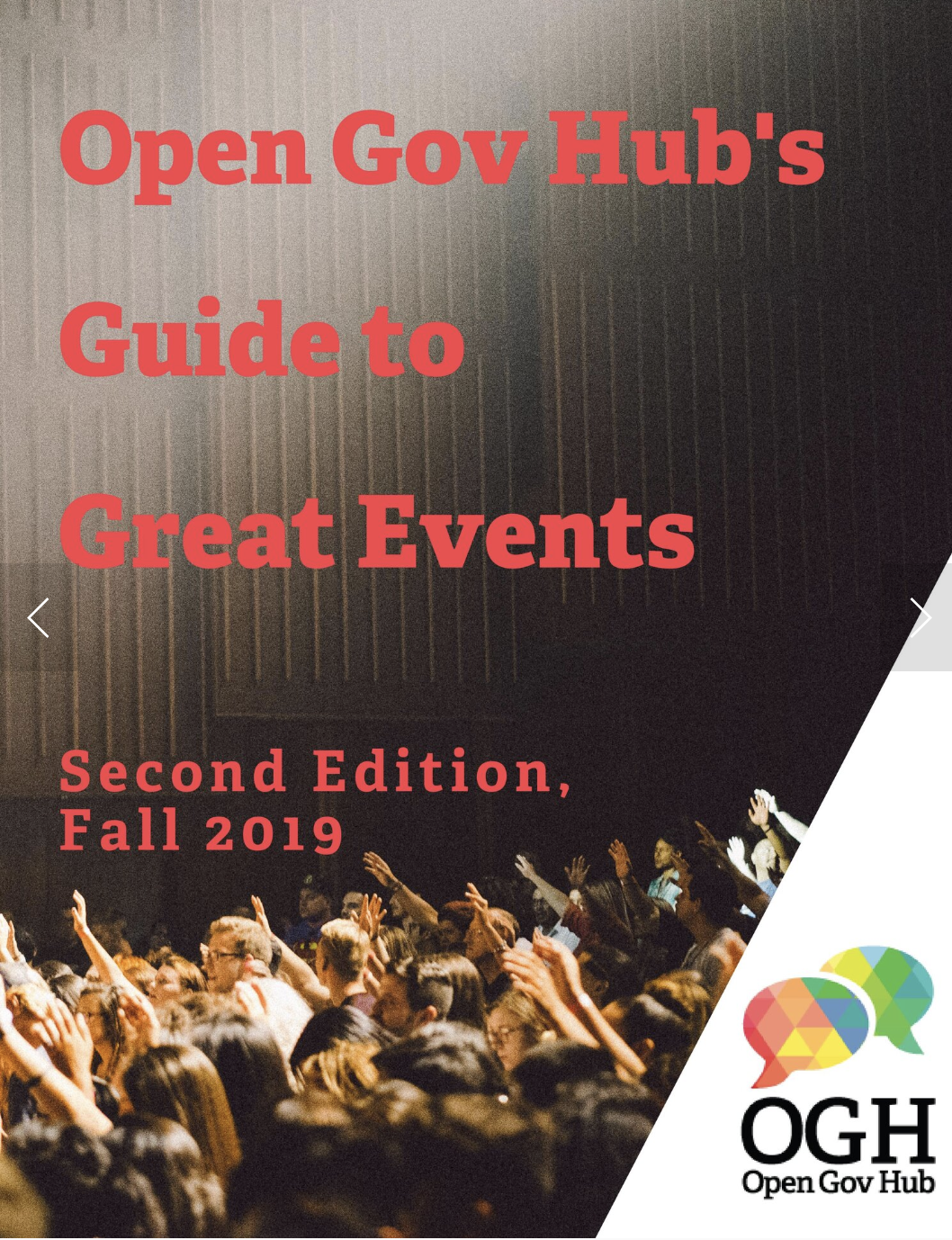 guide to great events cover