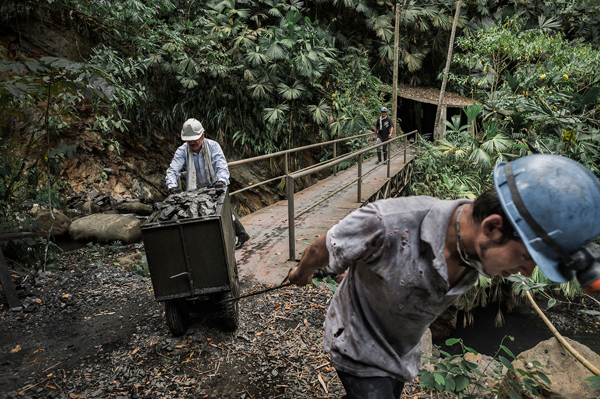 miners in Colombia