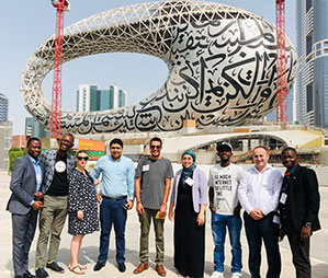 representatives from global affiliate hubs at retreat in Doha