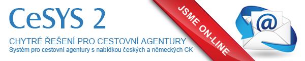 CeSYS, chytré řešení pro cestovní agentury